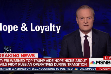 Lawrence: Hope Hicks' loyalty tested by Mueller team