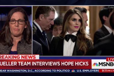 "Ex-US Atty: Hope Hicks may be ""crown jewel"" in probe"