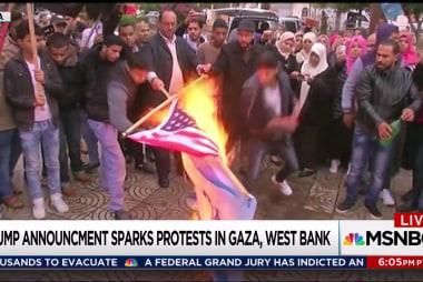 Trump sparks rage with Jerusalem declaration