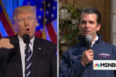 Trump Jr cites 'privilege' to avoid questions