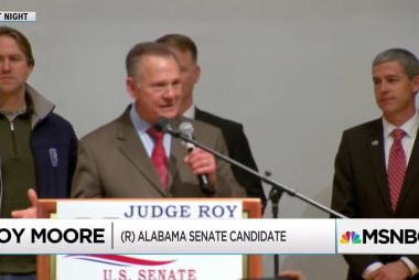 Roy Moore mistaken in Alabama recount claim