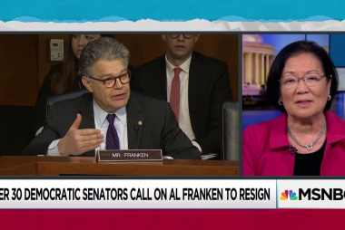 RNC embraces Moore, Democrats turn on Franken