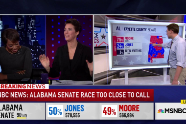 Doug Jones built no-holds-barred campaign