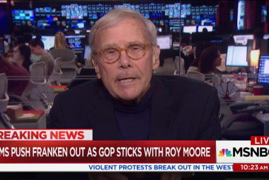 Brokaw on sexual misconduct: 'It will be...