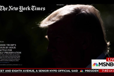 NYT goes inside Trump's day-to-day routine