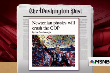 Newtonian physics will crush the GOP, says Joe