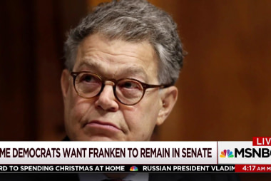 Senators urge Al Franken to reconsider resignation