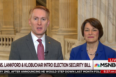 Two senators from both sides want to make elections more secure