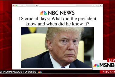 Over 18 crucial days, what did Trump know and when?