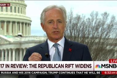 How the GOP rift with Trump widened in '17