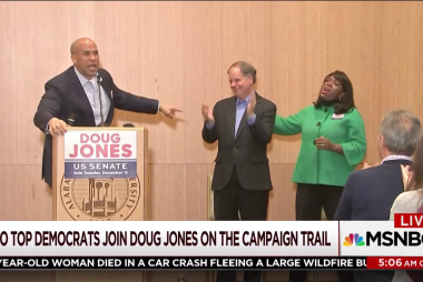 Can Doug Jones pull out a win in Alabama?