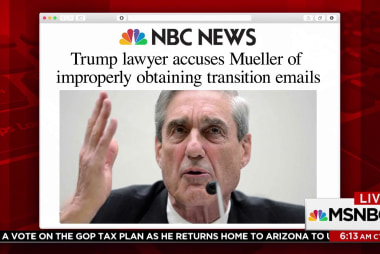 Did Mueller make a misplay with transition emails?