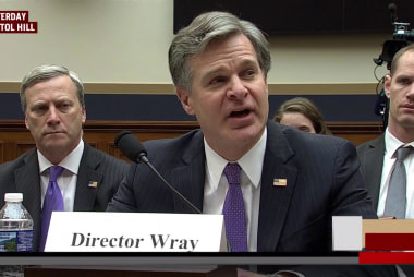 Joe: FBI Director Wray did a masterful job