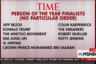 Time releases Person of the Year finalists