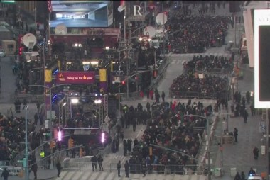 NYC security ramps up ahead of New Year's Eve celebrations