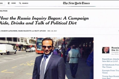 New report shows Australian allies alerted US of Papadopoulos