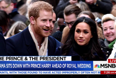 Prince Harry asked about possible Obama invite to royal wedding