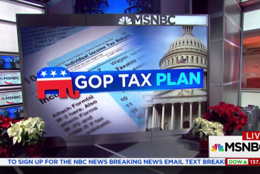 GOP moving to quickly push through tax bill deal