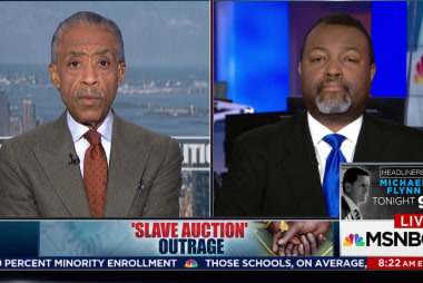 Slave Auction Outrage