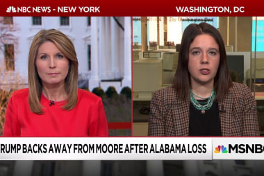 After Roy Moore's loss. White House plays the blame-game
