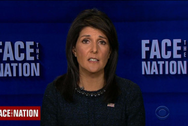 Ambassador Nikki Haley: Trump's accusers 'should be heard'