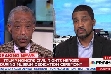 Rev. Al Sharpton and Darrell Scott spar over Trump civil rights speech