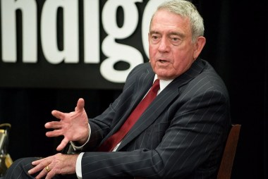 "Dan Rather: ""No, I can't respect"" the tone..."