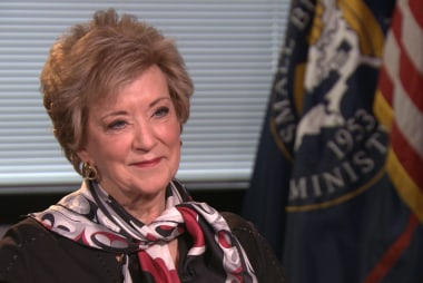 SBA chief Linda McMahon on the future of small business
