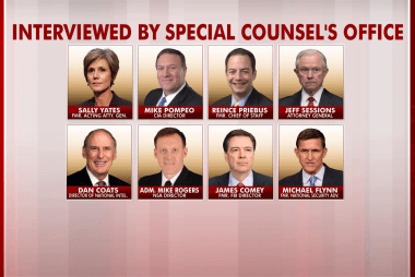 'A day of revelations in the Russia probe'