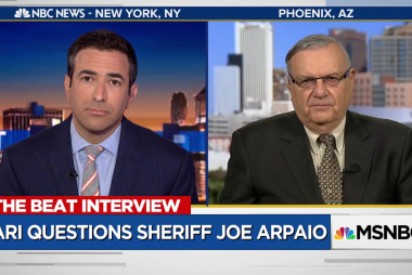 Watch Joe Arpaio learn his pardon was an admission of guilt