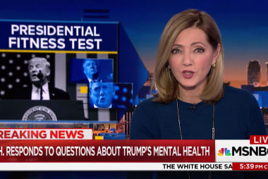 Lawmakers met with psychiatrist about Trump mental health