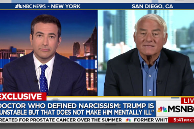 Renowned Psychiatrist: Trump acts like a baby but stop diagnosing him