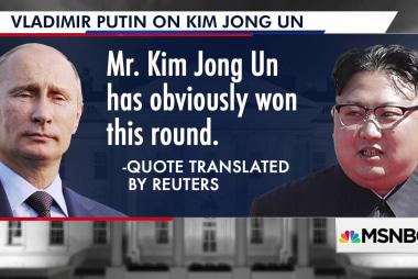 Putin: North Korea's 'won this round' against the West