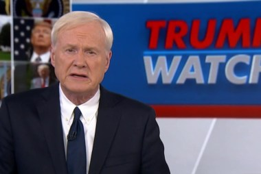 Matthews: Trump is not above the law