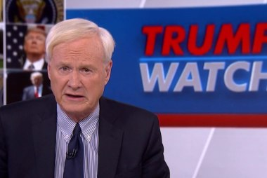 Matthews: Trump's White House reminds me of the Twilight Zone