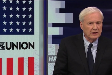 Matthews: Trump isn't uniting the country
