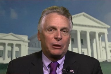 Terry McAuliffe: Trump is an embarrassment to the country