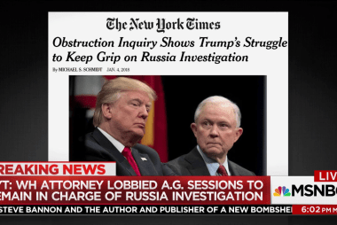 Trump told lawyer to stop Sessions from recusing himself: NYT
