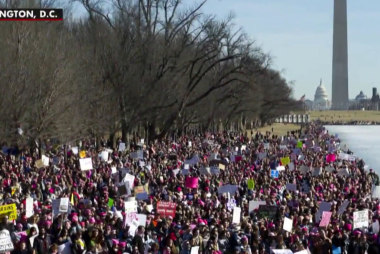 Women's Marches underscore rising discontent