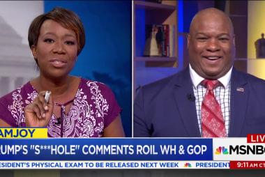 Pastor Mark Burns defends Trump after 's***hole' allegations
