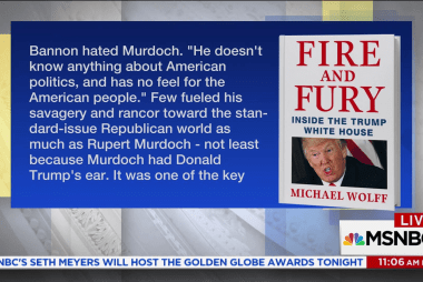 Right-wing media struggles to cover 'Fire and Fury'