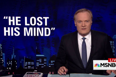 Lawrence: Will Trump claim they all lost their minds?