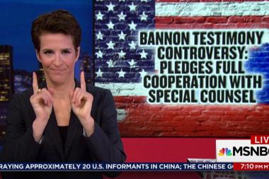 Mueller subpoena blocks Bannon testimony: NBC
