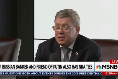 Russian money ties to NRA under FBI scrutiny