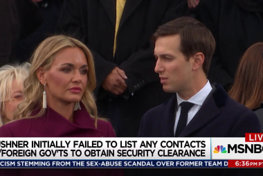 Jared Kushner may be compromised by China