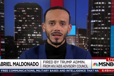 Trump admin abruptly ends AIDS council