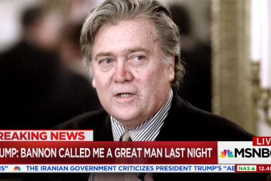 Trump: Bannon called me a great man last night