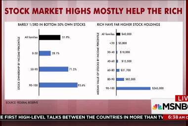 Half of US doesn't benefit from stock highs: Rattner