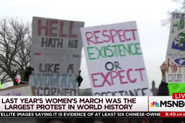 'Women just kept marching': The impact of world's largest protest
