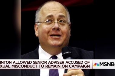 Did Hillary Clinton shield advisor accused of sexual harassment?